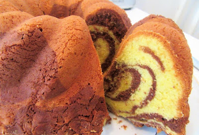 Mramorni kuglof / Marble cake