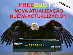 FREESKY // STARBOX ATUALIZAÇÃO FREEDUO