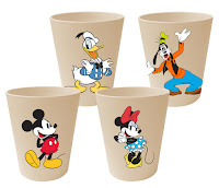 Vandor Bamboo Cup Set