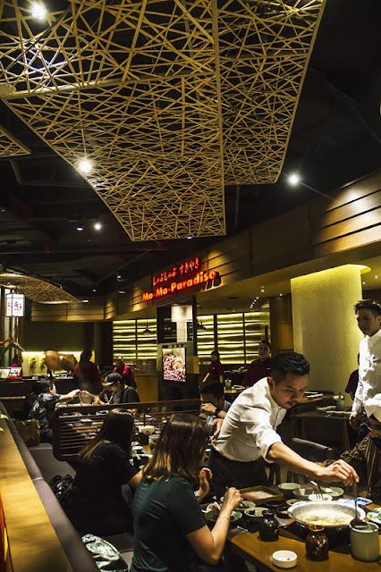 Dining Room Mo-Mo Paradise Malaysia At Lot 10 Bukit Bintang Kuala Lumpur