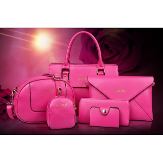 HANDBAG 6 IN 1 TERMURAH!!!!,GRED AA FASHION HANDBAG, HANDBAGS, HANDBEG, HANDBEG 6 IN 1, HANDBAG MURAH, INSTAGRAM,