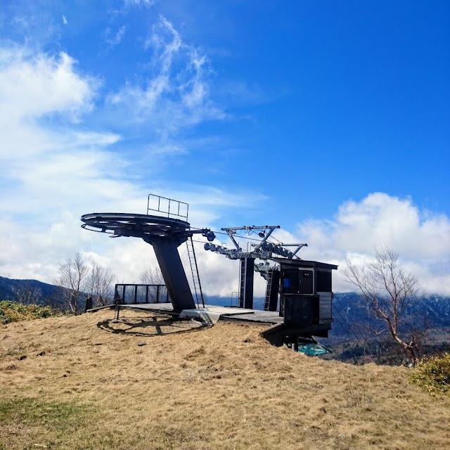 志賀草津高原ルート 万座温泉側のスキーリフト
