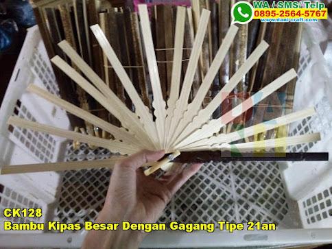 Grosir Bambu Kipas Besar Dengan Gagang Tipe 21an