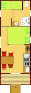 Casa su Ruote con due camere