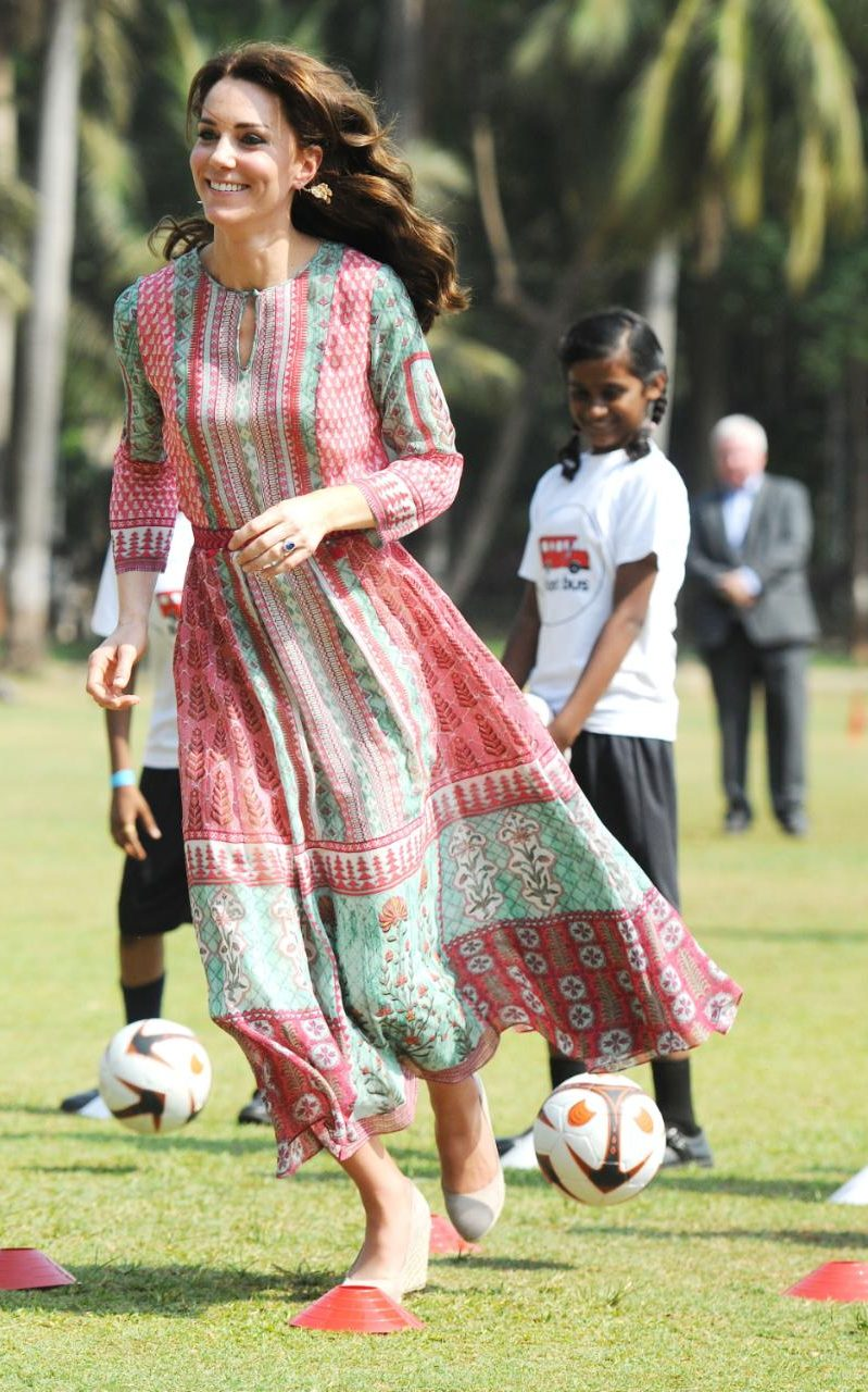 the best of duchess kate in india