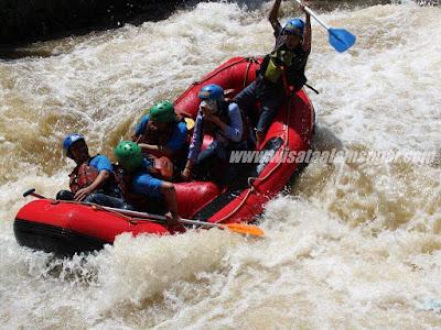 Rafting di Sentul