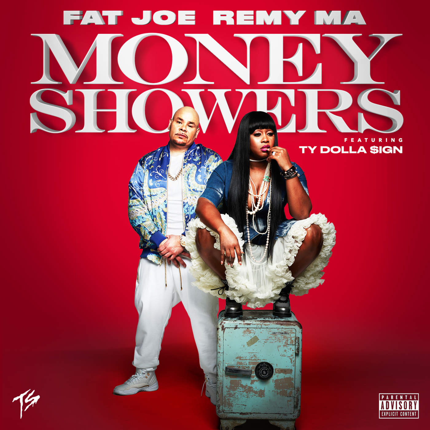 Fat Joe & Remy Ma - Money Showers (feat. Ty Dolla $ign) - Single Cover