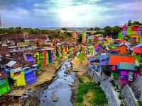 Jodipan Malang, Kampung Warna-Warni yang Jadi Spot Foto Terkini di Malang