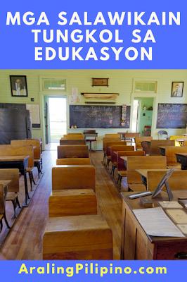 mga salawikain tungkol sa edukasyon tagalog