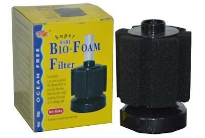 sponge filter merk bio-foam