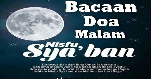Teks Bacaan Lafadz Doa Malam Nisfu Sya'ban Lengkap Arab Latin