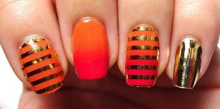 Gold Nail Wraps