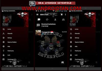 Download BBM Mod Apk Avenged Sevenfold A7X v3.2.0.311 Terbaru 2017