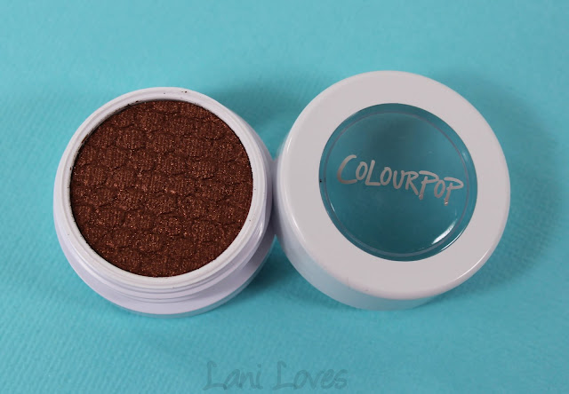 ColourPop Super Shock Shadow - Boy Band Swatches & Review