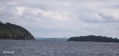 Lake Päijänne, central Finland