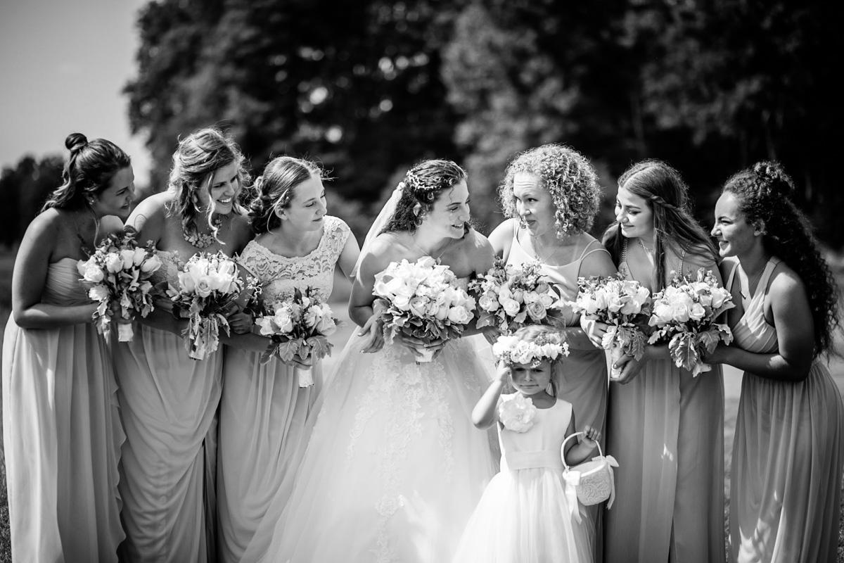 Newlywed Enjoying Beautiful Photo-shoots