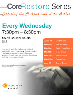 lara's touch seven week chakra yin yoga series