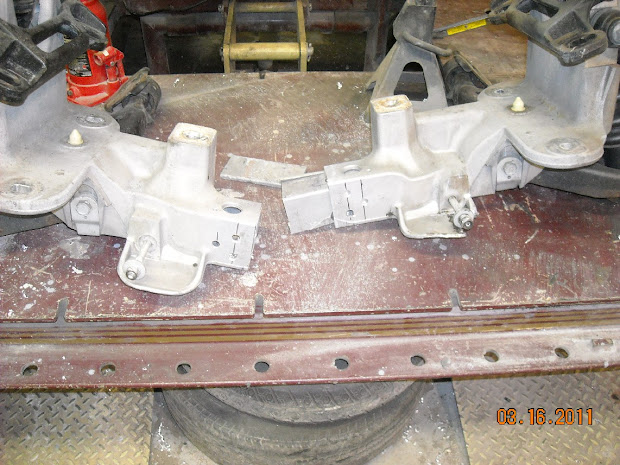 Crown Vic Front Suspension Measurements - Year of Clean Water