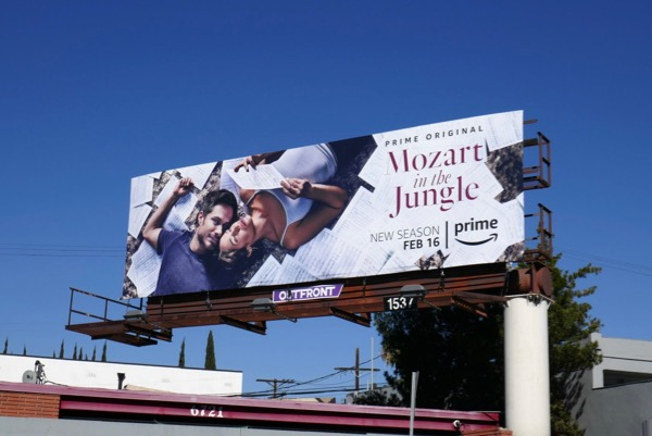 Mozart in the Jungle season 4 bilboard
