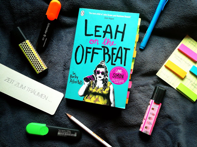 Cover von Leah on the Offbeat by Becky Albertalli