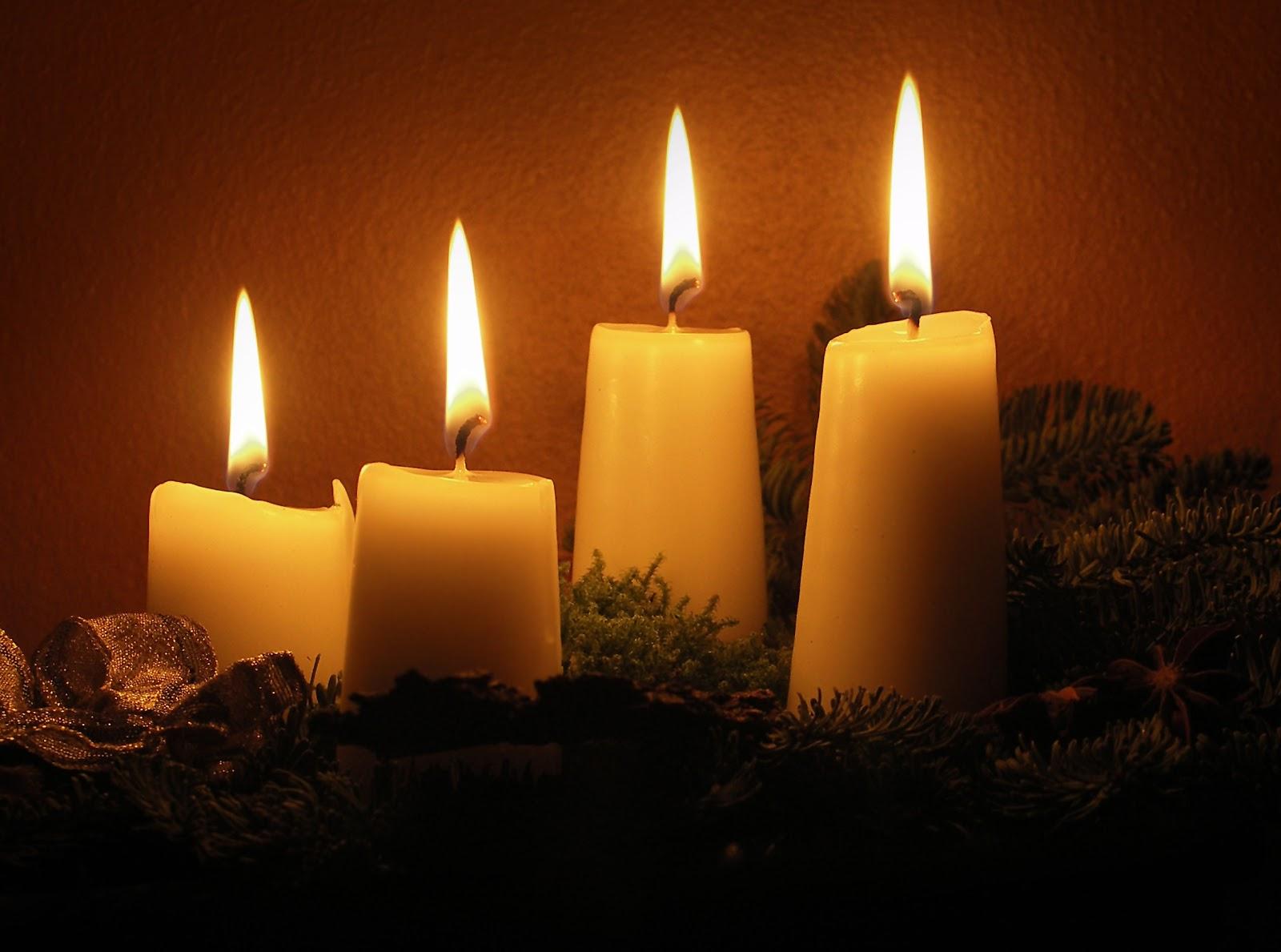 Fall Candles Wallpaper 마리아사랑넷 대림초 Advent Candle