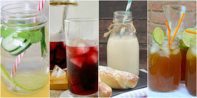 10 Bebidas refrescantes y sanas