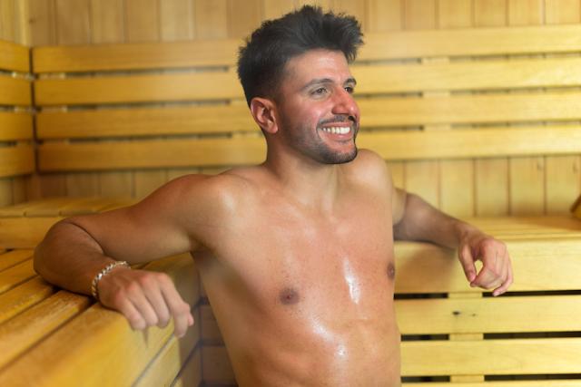 Sauna reduce Stress