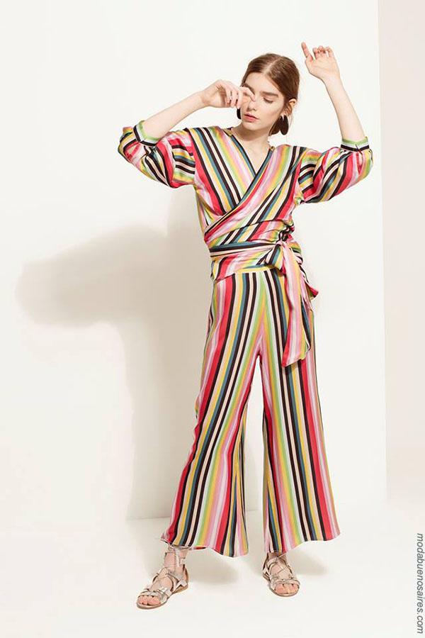 Monitos primavera verano 2018. Ropa de moda mujer primavera verano 2018.