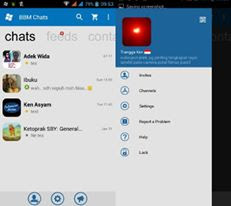 BBM Mod Windows Phone v2.12.0.11 Natural