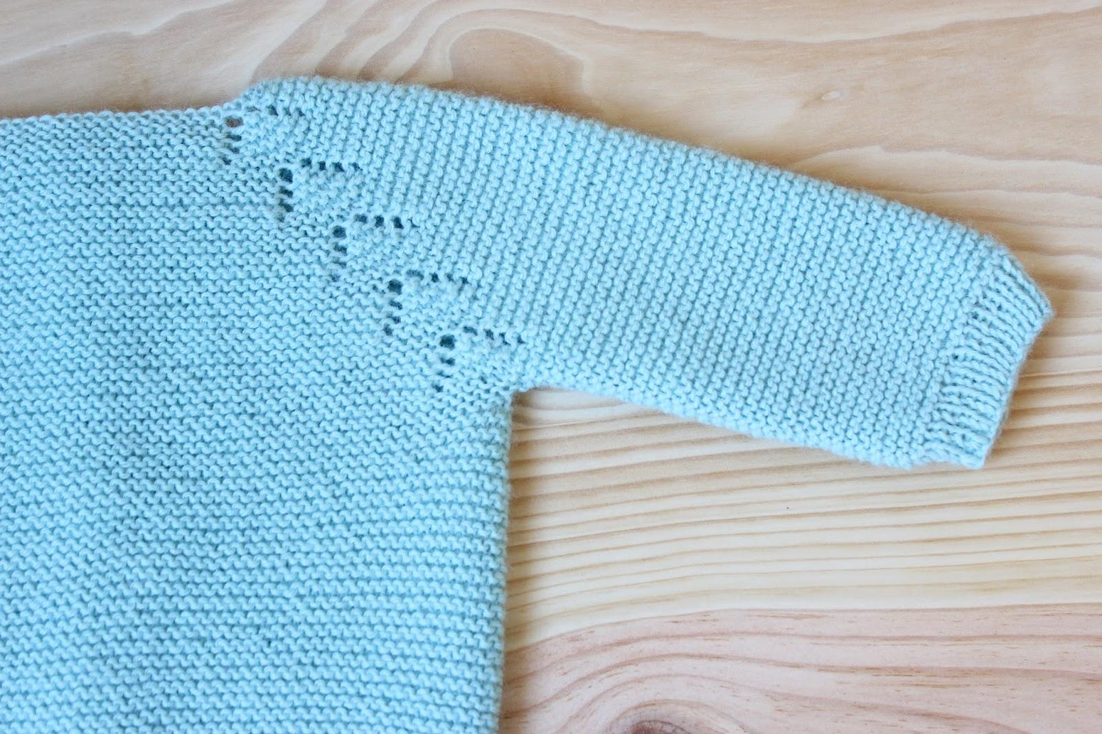 mariposa tricotosa: El jersey de bebé más tierno: kit y patrón ...