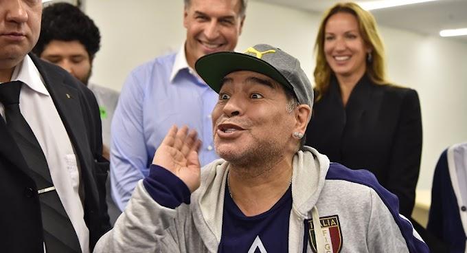 Maradona será o novo treinador da seleção russa?