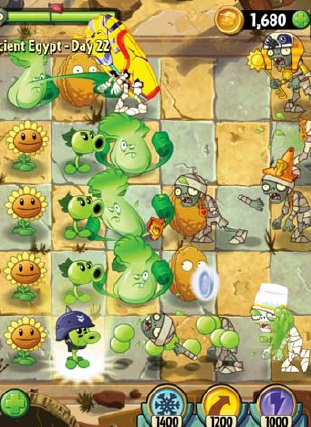 10 best free games for your phone or tablet Plants vs Zombies 2