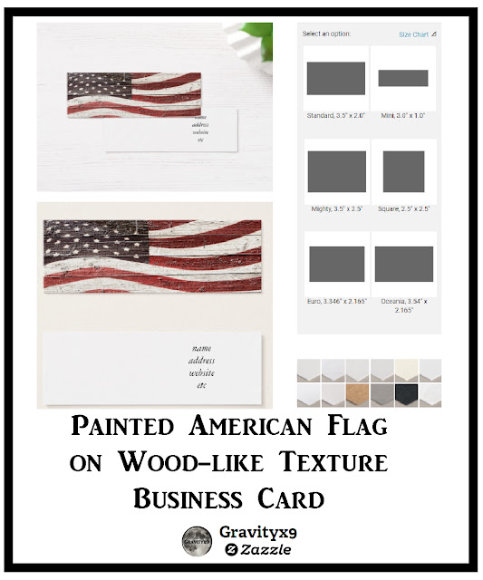 American flag business cards at zazzle here are a few more varieties of the usa themed business cards at zazzle reheart Image collections