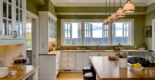 Không nên đặt bếp gần cửa sổ