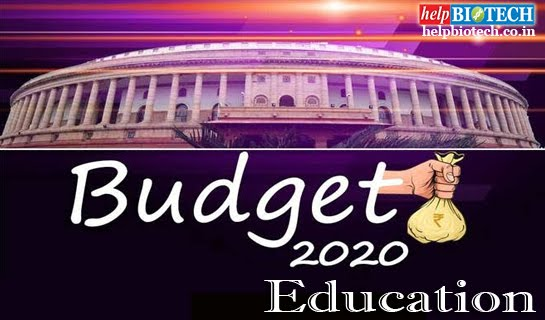 Budget 2020 on Education Image