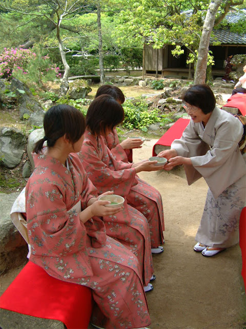 Tea Ceremony, Hagi City, Yamaguchi Pref.