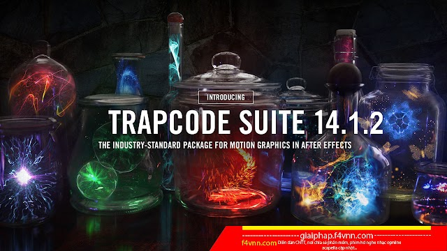 Trapcode Suite 14.1.2 Full - Plugin không thể thiếu cho After Effects