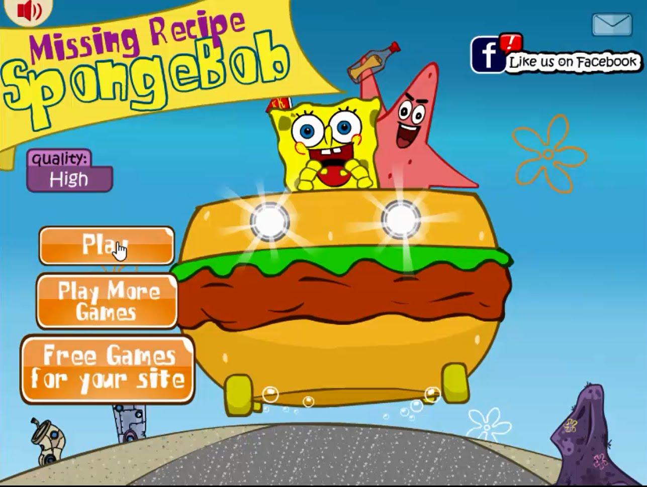 Nickelodeon Games: SpongeBob SquarePants - Play Free ...
