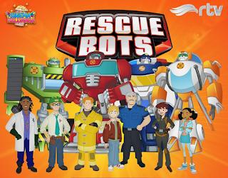 Film Anak : Rescue Bots (Kartun RTV Terbaru)