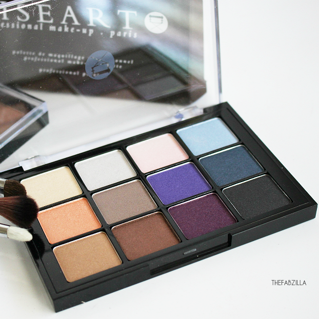 Viseart Shimmer Eyeshadow Palette Bridal Satin, review, swatch