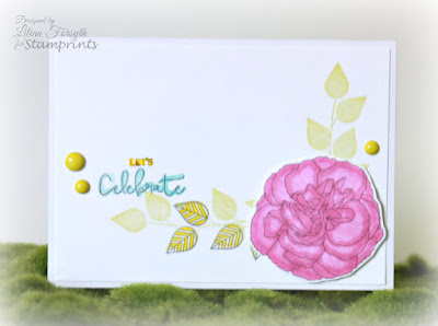 The Leaf Studio: Carnation #3 Celebrate Card