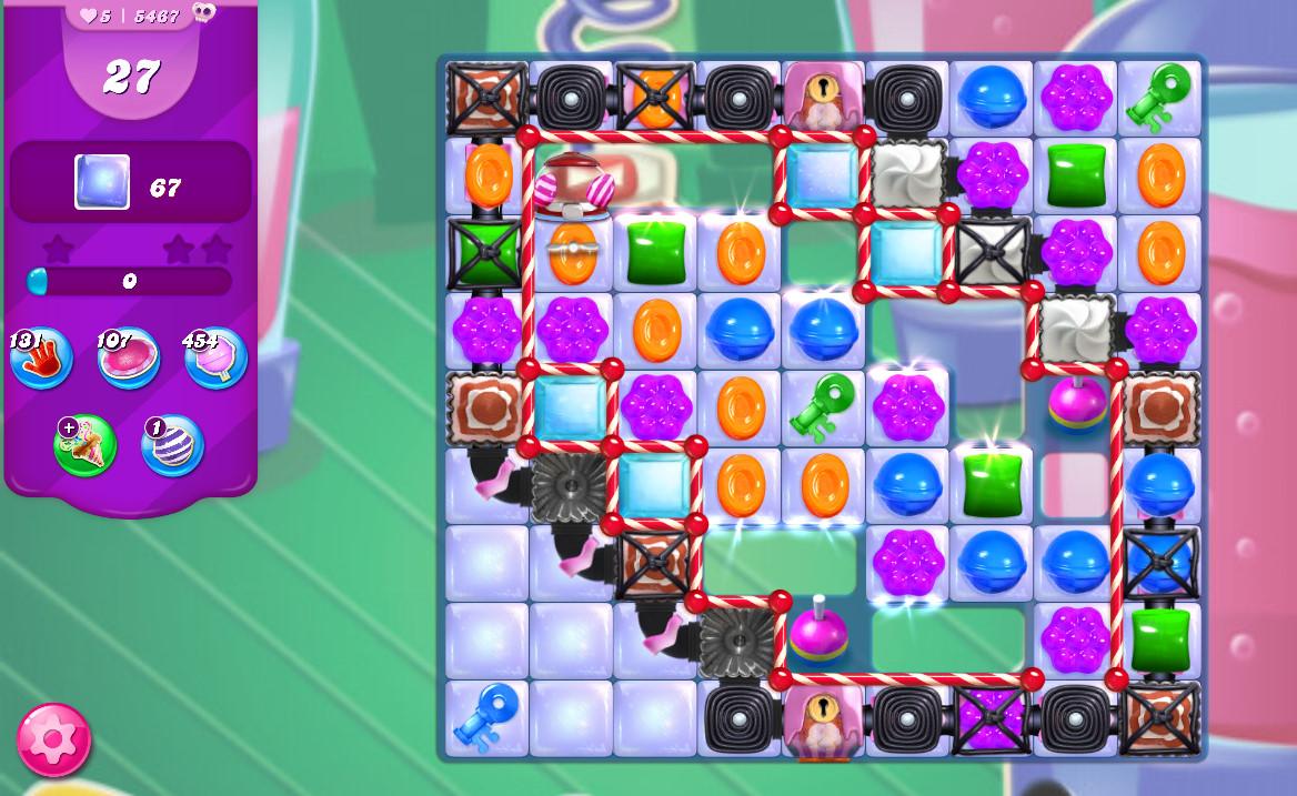 Candy Crush Saga level 5467
