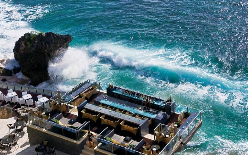 Rock bar, Bali, Indonesia