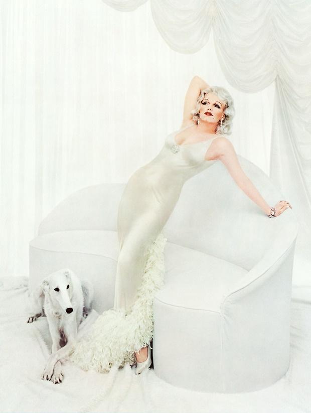 Marilyn como Jean Harlow por Richard Avedon