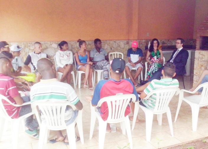 CREAS promoveu palestra para adolescentes sobre maioridade penal