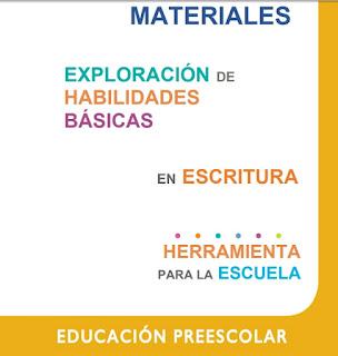 Exploración de habilidades básicas en escritura - SISAT Preescolar