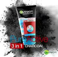 Dupe naturel Pure Activ Intensif 3 en 1 au charbon