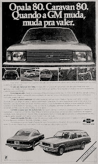 propaganda Chevrolet - 1979. Reclame GM 1979