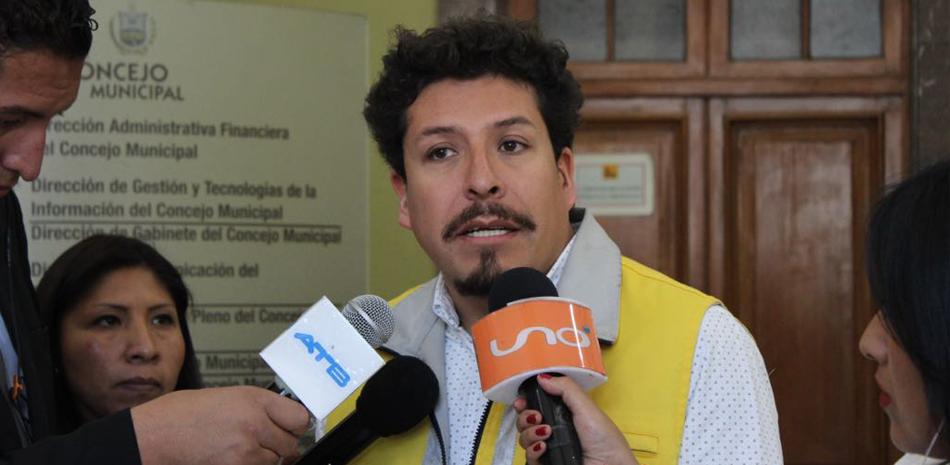 Secretario municipal de Planificación para el Desarrollo, Marcelo Arroyo