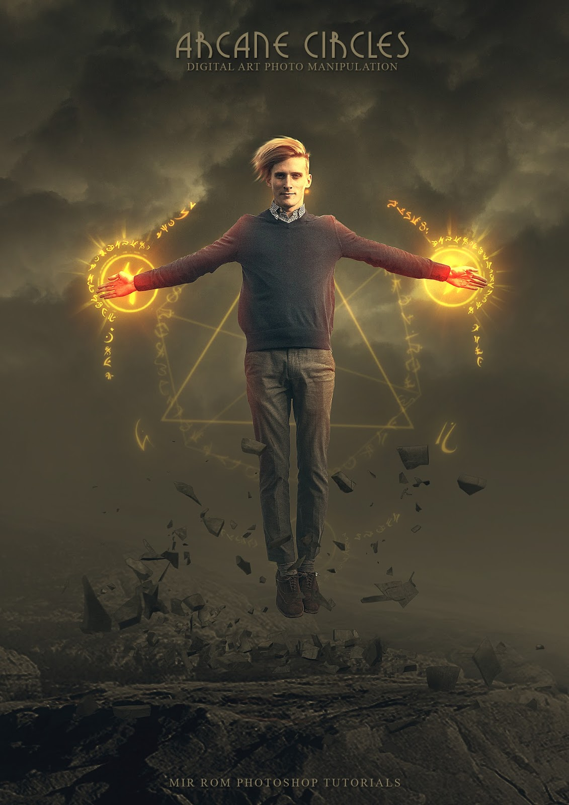 Create a Fantasy Art Photo Manipulation Photoshop Tutorial